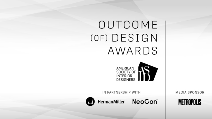 ASID Announces Outcome of Design Awards Program, in Partnership with Herman Miller + NeoCon