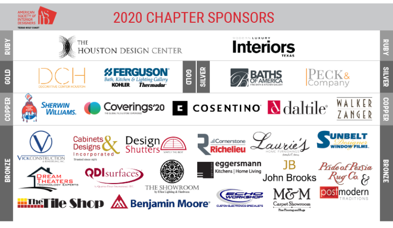 Thank you to all of our 2020 Sponsors!