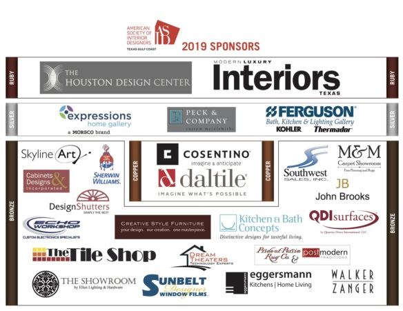 Thank you to all of our 2018 ASID Sponsors!